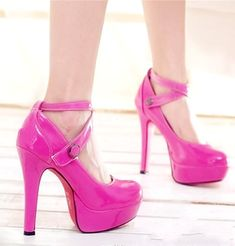 The description says classy pink shoes but to me they look more like stripper heels =/