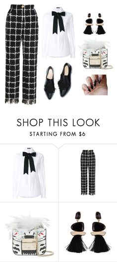 """""""Untitled #34"""" by slydrgn35 on Polyvore featuring Dolce&Gabbana and Furla"""