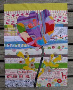 Cabbage Quilts: kim mclean flower garden