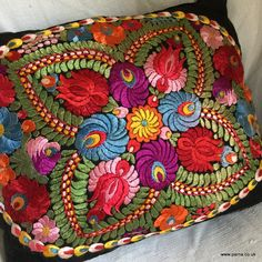 Hungarian Embroidery, Folk Embroidery, Learn Embroidery, Embroidery Stitches, Embroidery Patterns, Floral Embroidery, Flower Embroidery Designs, Flower Designs, Lace Making