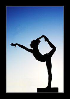 Gymnast Silhouette 1