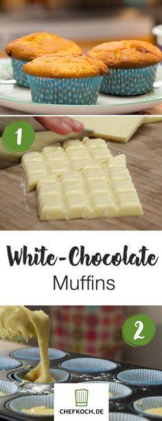 Extra-White-Chocolate Muffins