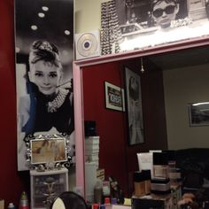 My favorite room in the house. My makeup room.