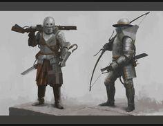 ArtStation - Heavy Troops, Rostyslav Zagornov