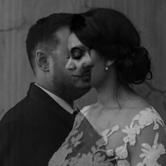 Black and White Double Exposure: When two become one 🖤 South African Weddings, Double Exposure, Antonio Mora, In This Moment, Black And White, Artwork, Photography, Work Of Art, Photograph
