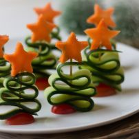 Christmas trees (and Paleo): Happy Holidays! recipe - Healthy Christmas trees (and Paleo): Happy Holidays! recipe -Healthy Christmas trees (and Paleo): Happy Holidays! recipe - Healthy Christmas trees (and Paleo): Happy Holidays! Christmas Party Food, Xmas Food, Christmas Appetizers, Christmas Cooking, Christmas Entrees, Creative Christmas Food, Christmas Tree Food, Christmas Buffet, Xmas Trees
