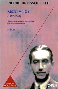 Résistance, 1927-1943 de Pierre Brossolette http://www.amazon.fr/dp/273810651X/ref=cm_sw_r_pi_dp_1yGyvb0NZZGX8