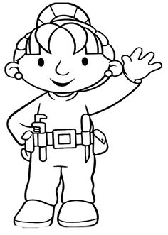 Printable Wendy Friend Of Bob The Builder Coloring Pages