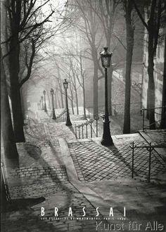 Gilberte Brassai - Les Escaliers de Montmartre, Paris