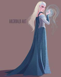 The Huntsman Winter's War - Queen Freya Art