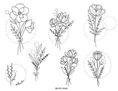 😍😍 which would you do? cndrll_design Usem a Qual você faria? 😍😍 which would you do? cndrll_design Usem a // . Mini Tattoos, Love Tattoos, Body Art Tattoos, Tattoo Drawings, Tatoos, Small Flower Tattoos, Small Tattoos, Simple Flower Tattoo, Flower Bouquet Tattoo