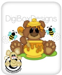 Digital Honey Bear