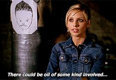 Hey Buffy, just lock Angel and Spike in a room and let them wrestle out their differences...