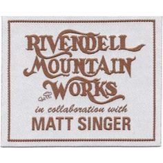 Matt Singer and Rivendell Mountain Works - A limited-edition backpack benefiting the Million Trees NYC initiative