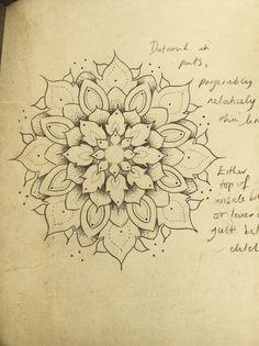 Mandala Designs, lottevanns: Design for my next tattoo :) Love...