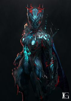 Commission - Valkyr Prime by Kevin-Glint.deviantart.com on @DeviantArt