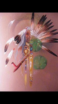 Peace pipe dreams. Beautiful Art=)