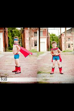 Oh my gosh. I need a photo session like this for Pete. Little Boy Photography, Photography Pics, Children Photography, Avengers Birthday, Superhero Birthday Party, 4th Birthday, Boy Pictures, Boy Photos, Cute Photos