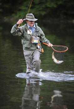 Allegheny Brown Trout - Fly Fisherman