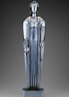 Maquette for Ceres, 1928 at the top of the Chicago Board of Trade-John Bradley Storrs American, 1885-1956