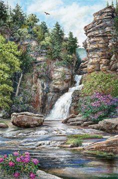Linville Falls William Mangum