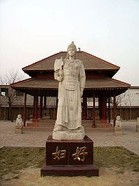 1200s BC - Lady Fu Hao consort of the Chinese emperor Wu Ding, led 3,000 men into battle during the Shang Dynasty.