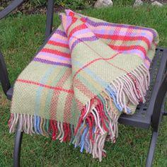 Merino Cashmere Wool Throw Blanket
