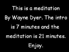 I Am That Meditation