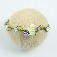 újszülött Baba virágkötészet virág fejpántos fotózás kellékek fejpántok  kiegészítők baby girl csecsemő hairband fb8cf8aaba