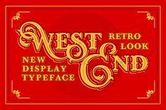 WEST END + Stout bonus by Vintage Voyage Design Co. on @creativemarket
