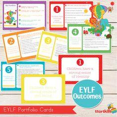 PDF EYLF Programming Templates | Pinterest | Template, Early ...