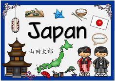 """Länderplakat """"Japan"""" Das nächste Länderplakat ist fertig und beschäftigt sich mit Japan. Dieses Länderplakat war ein Wunsch von Namscha..."""