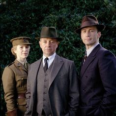 Foyle's War starring Michael Kitchen, Honeysuckle Weeks and Anthony Howell