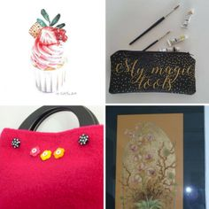 Items Of The Week: Art I Etsy Christmas In July