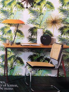 You can never have too many Palm trees. Even indoors.