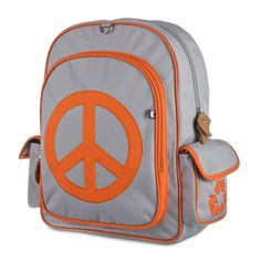 b8e2c9d66436 Big Kid PEACE Eco Backpack by Beatrix NY School Bags For Kids