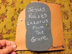 Children's Bible Lessons: Lesson - Jesus Raises Lazarus From The Dead