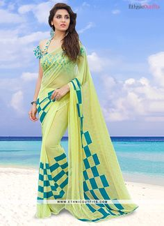 Princely Printed Saree For Casual