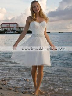 Short Dress For The After Party Simple Wedding Gowns Weddings Chiffon