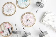 Bunny Coasters TUTORIAL with Wonderland Fabric | See Kate Sew #iloverileyblake #FabricIsMyFun