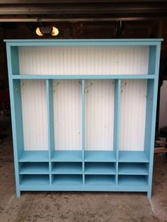Modified 4 Kid Locker Cabinet | Do It Yourself Home Projects from Ana White