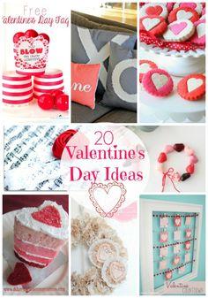 20 fabulous Valentine's Ideas featured on iheartnaptime.net