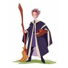 Professor Hooch from harrypotter  #harrypotter #professorhooch #fanart #characterdesign #vizdev #sketch #art #artoninstagram by dariusdraws