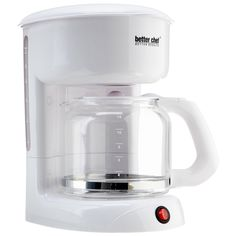 Better Chef 12 Cup White Coffeemaker – NiftyPlaza.com