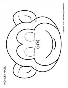 Here are the Wonderful Pictures Of Monkeys To Coloring Pages. This post about Wonderful Pictures Of Monkeys To Coloring Pages was posted . Monkey Template, Cat Template, Templates Printable Free, Animal Mask Templates, Printable Animal Masks, Animal Masks For Kids, Face Masks For Kids, Photos Singe, Monkey Coloring Pages