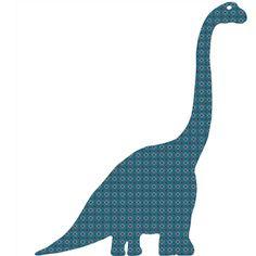 INKE - Dinosaure, Diplodocus vintage wallpaper silhouettes by Inke Heiland (inke.nl)