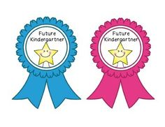 This is a set of both Future Kindergartner and Kindergartner ribbons. Their are six choices of ribbons for both types of ribbons. This makes a nice last day of Preschool, open house, or a first day of Kindergarten gift.