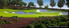 World-class golfing at The Earth Course in Dubai waits less than 30 minutes from The Palm.
