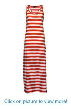 MonsterCloset Women's Striped Maxi Dress #MonsterCloset #Womens #Striped #Maxi #Dress