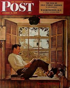 Oct. 5, 1946 - Willie Gillis in College | The Complete Willie Gillis Series By Normal Rockwell